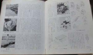 本「金魚の飼育と繁殖」のミジンコ培養法を記述した部分