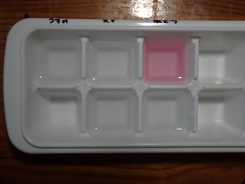 DPD試薬を使った水質検査の様子