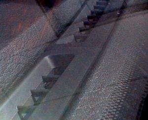 R32スカイライン フロントデフロスタの吹き出し口