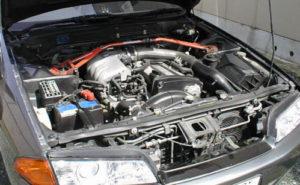 R32スカイライン エンジンルーム
