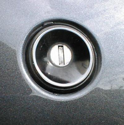 R32スカイライン トランクのキー穴