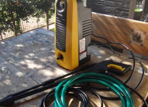 高圧洗浄機の例 アイリス FBN-606