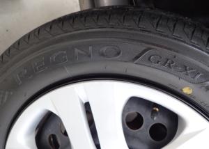 フィットに装着したREGNO GR-XI 175/65R15