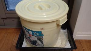 ぬか床の容器