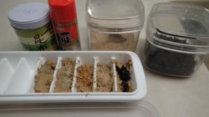 ぬか床添加物の実験