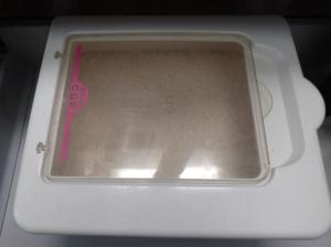 ヤマハのシステムキッチンに付属してきた米びつ