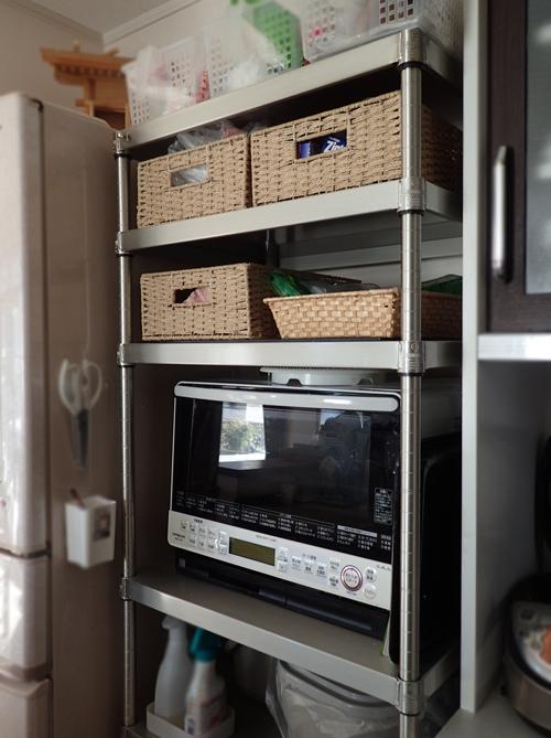 ルミナス プレミアムラインで作ったキッチンラック