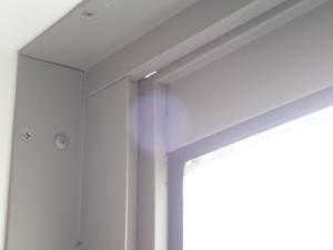 トステム縦すべり出し窓の隙間