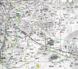 土地探しマップの例