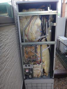 水漏れした電気温水器 三菱 SRT-37C2