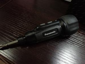 パナソニック USB充電ミニドライバー