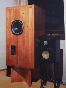 自作スピーカー(ダイヤトーンP-610DB オール鉄製エンクロージュア)