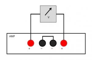 ボリウムのギャングエラーを測るための測定回路図