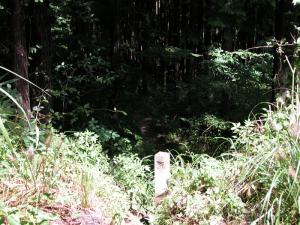 2007年頃の田口鉱山入口