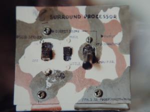自作のサラウンド切り替え器