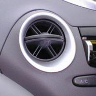 トヨタ プラッツのエアコン吹き出し口