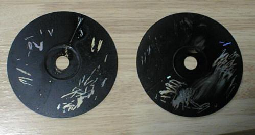 CDを使った自動車用コーティング剤のテスト結果