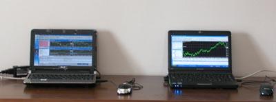 ノートPCを2台使った24時間取引環境