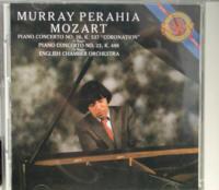 CD モーツァルト ビアノ・コンチェルト マレイ・ペライヤ、イギリス室内管弦楽団