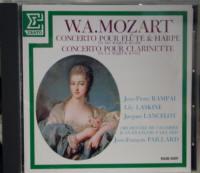 CD モーツァルト フルートとハープのための協奏曲 ランパルほか、パイヤール指揮、パイヤール室内管弦楽団