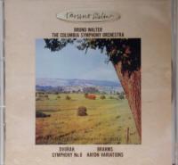 CD ドヴォルザーク交響曲第8番 ト長調 作品88 ブルーノ・ワルター指揮 コロンビア交響楽団