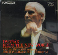 CD ドヴォルザーク 交響曲 第9番 ホ長調 作品95 新世界より ヴァーツラフ・ノイマン指揮、チェコ・フィルハーモニー管弦楽団