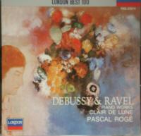 CD 月の光/ドビュッシー&ラヴェル・ピアノ曲集 パスカル・ロジェ