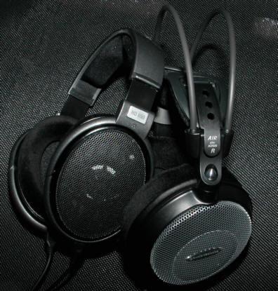 ゼンハイザーHD650とオーディオテクニカAD500の外観
