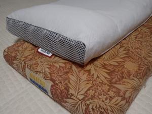 新旧のムアツ枕