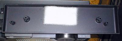 パナソニックNV-FS900 サイドパネルの内側