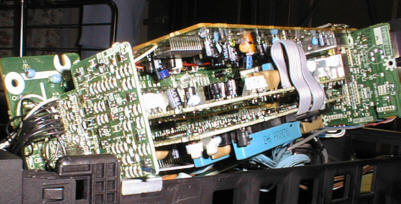 パナソニックNV-FS900 映像系の回路基盤