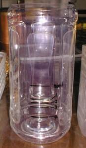 ペットボトルで自作した20%換水用の計量容器