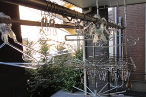 スレンレス、ポリカの竿ピンチ、ハンガーの例