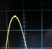 レクロイ社製デジタルオシロの表示波形