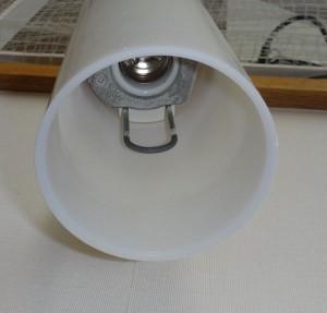 スポットライト(ナショナルHEW1091E)のU字形ガード