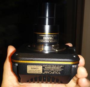 顕微鏡カメラ Touptek LCMOS05100KPA の本体