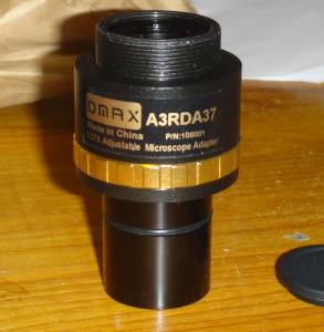 ピント調整機構付きリレーレンズ OMAX A3RDA37
