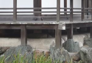 金閣寺の基礎構造