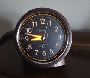目覚まし時計 シチズン エフライトR435