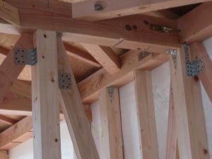 木造住宅の躯体結合部の例