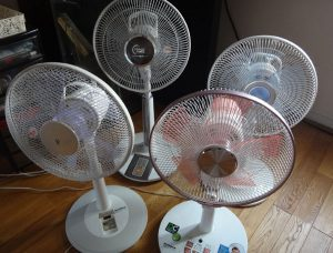 いろいろな扇風機