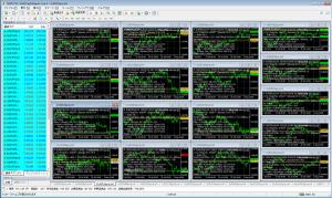 Arbitrageの実行画面