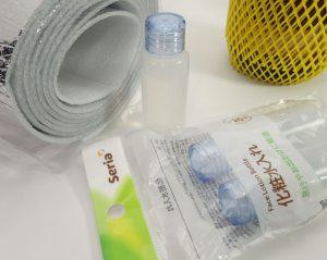 クリーニング液を小分けするための容器の例