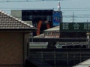 TONE m15のフロントカメラ画像(中央部等倍切り出し)