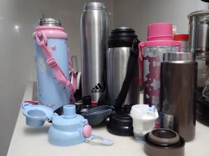 いろいろな水筒