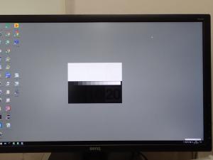 BenQ PD2700Q ユニフォーミティの実画面