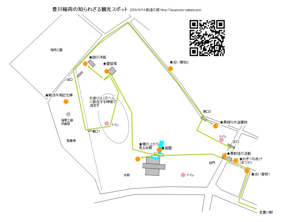 豊川稲荷の観光スポット
