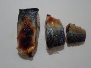 酢で臭み抜きした鯖の塩焼き