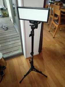 ビデオ照明の例