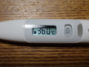実測検温の結果